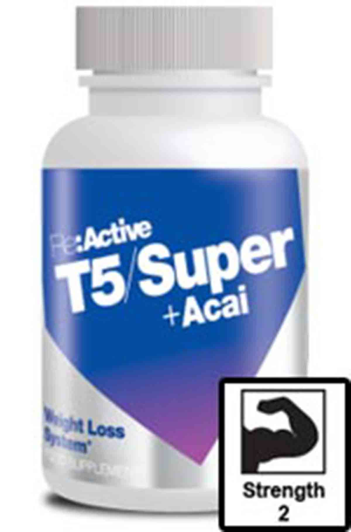 Reactive T5 Super + Acai diet pills