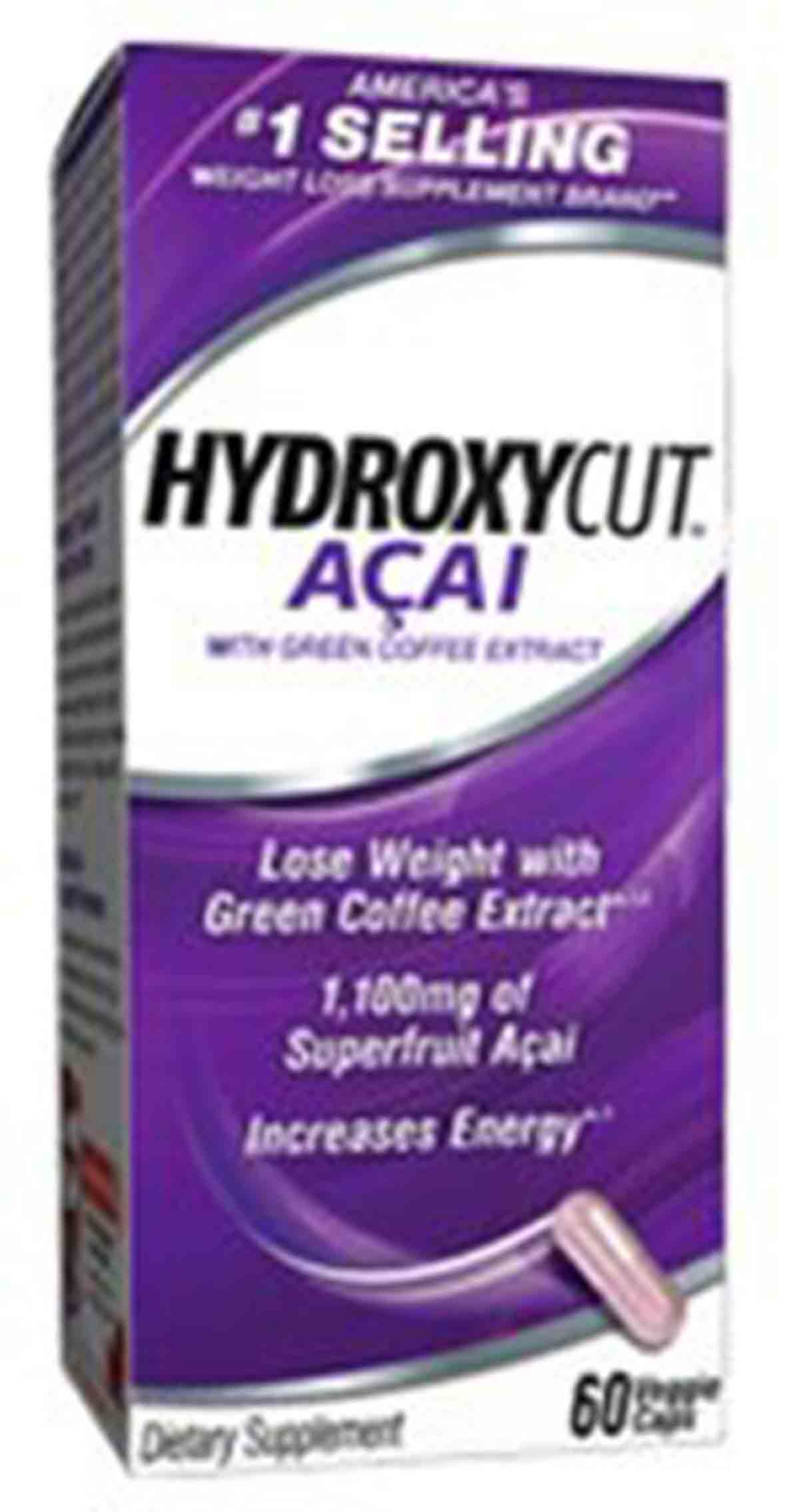 Hydroxycut Acai with Green Tea