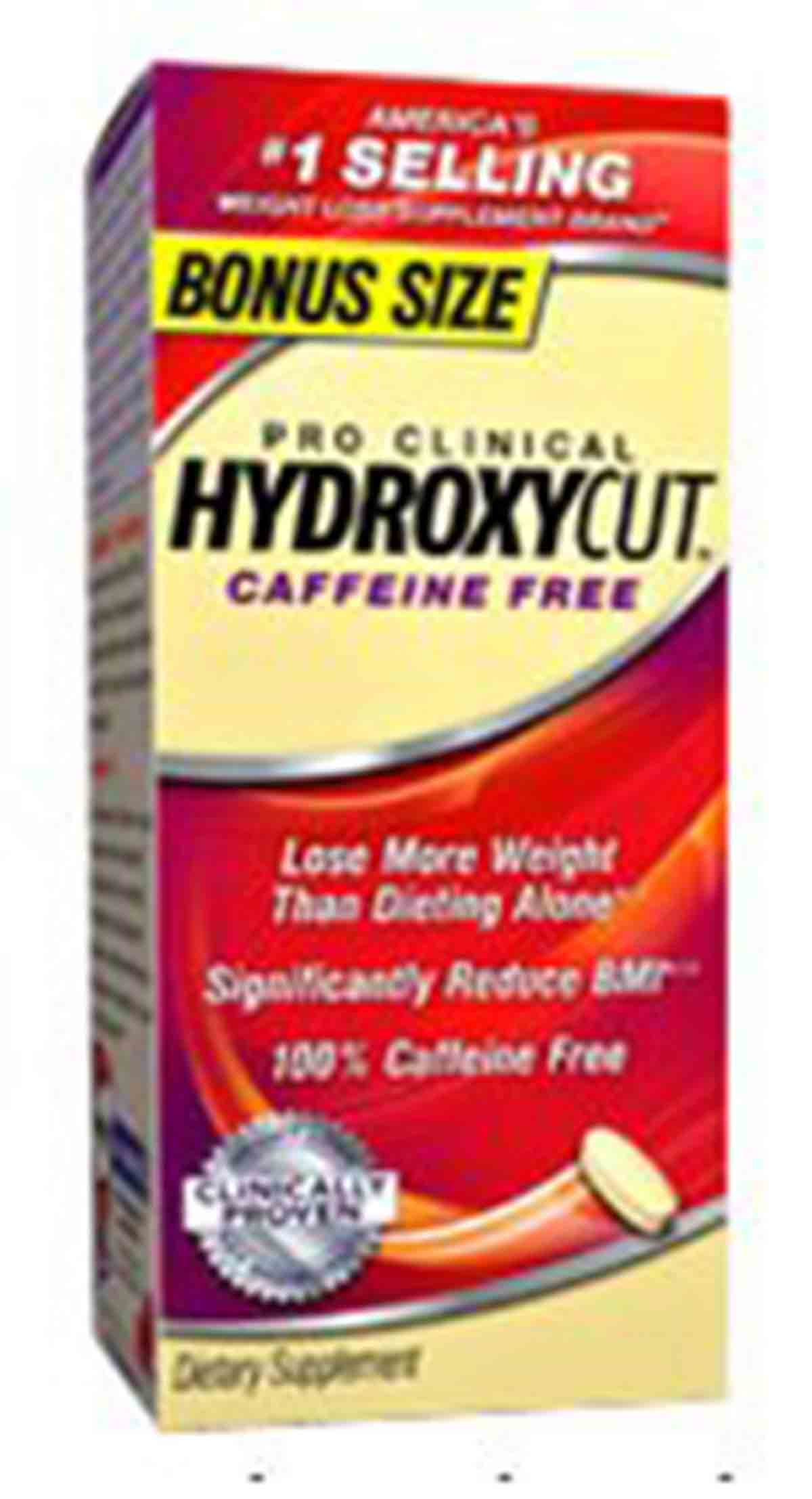 Pro Clinical Hydroxycut Caffeine Free