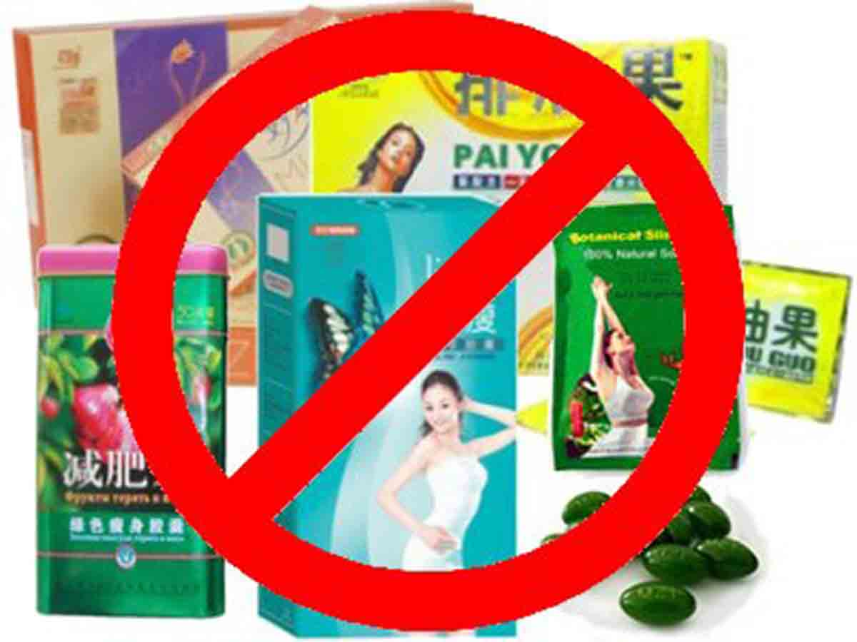 Dangers Of Chinese Diet Pills