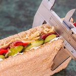 Measuring sandwich for weight loss