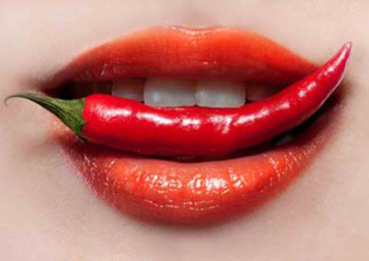 Capsicum mouth