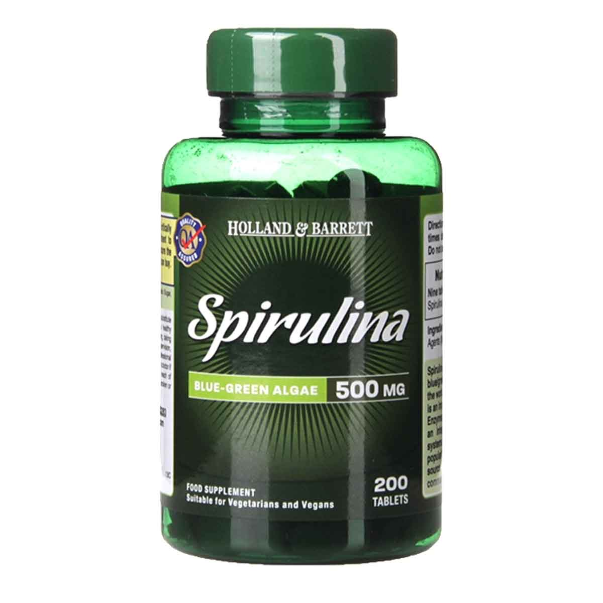 Holland & Barrett Spirulina Tablets