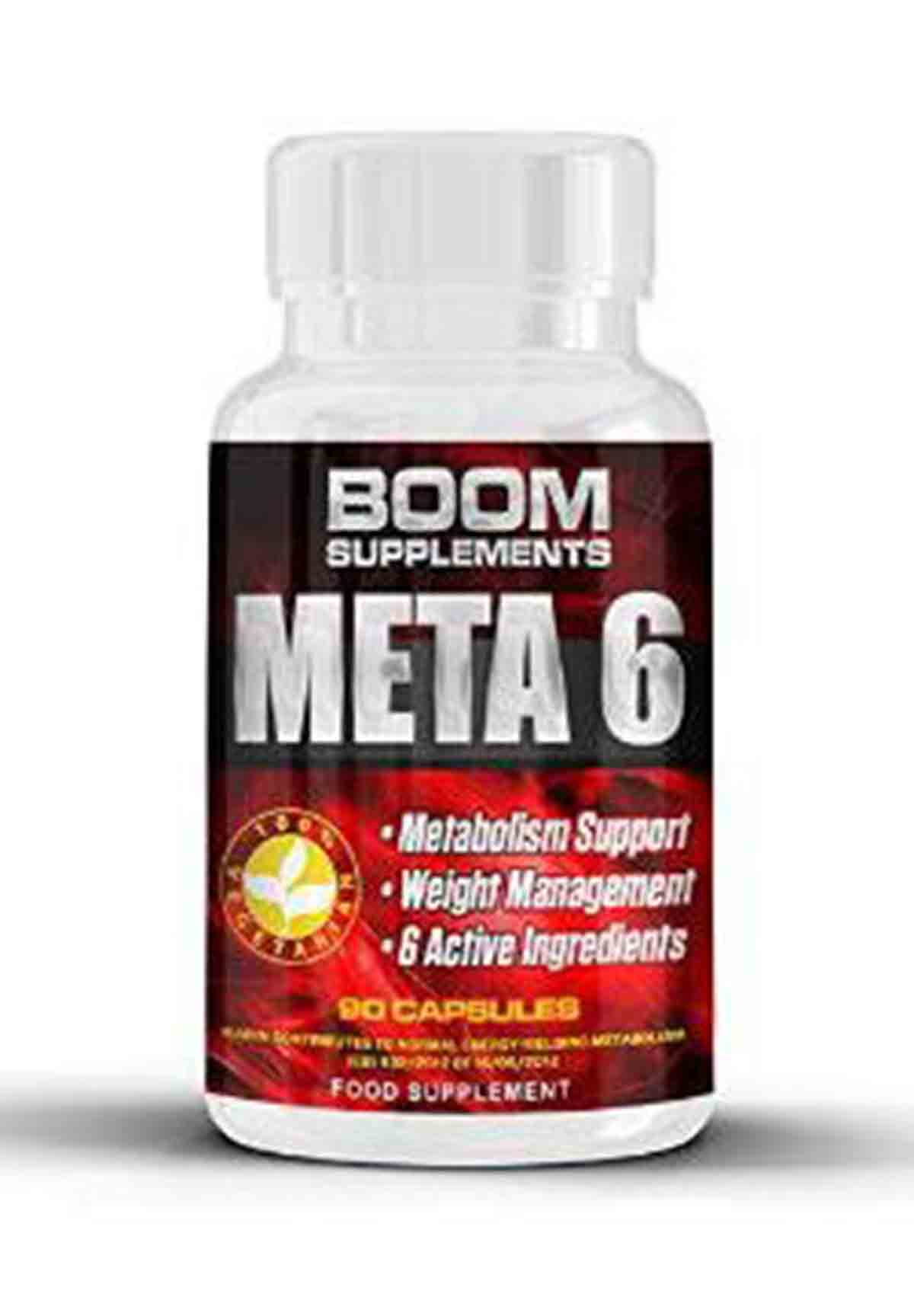 Boom Supplements Meta 6 Fat Burner