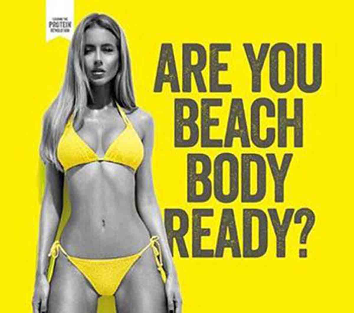 Beach Body Ready with Protein World