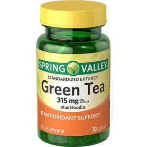 Spring Valley Green Tea Plus Hoodia