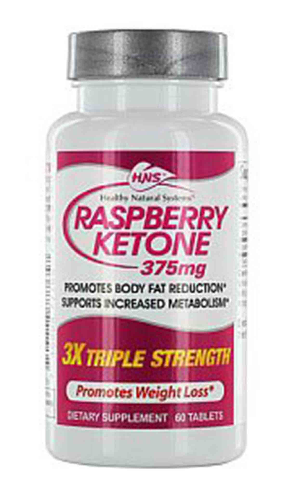 Healthy Natural Systems Raspberry Ketone Triple Strength