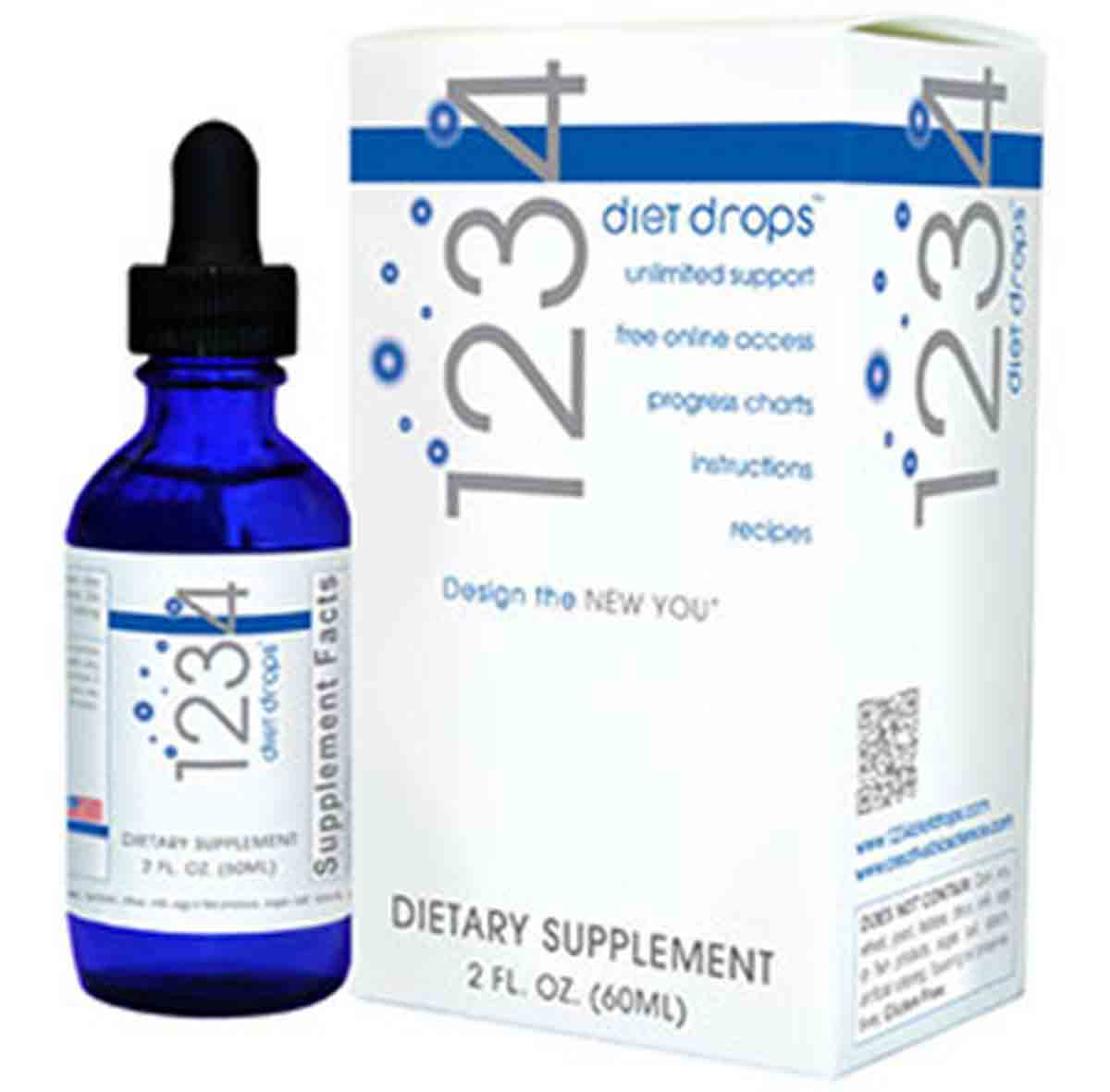 Creative Bioscience 1234 Diet Drops