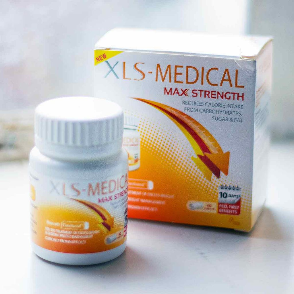 XLS Medical Max Strength Bottle