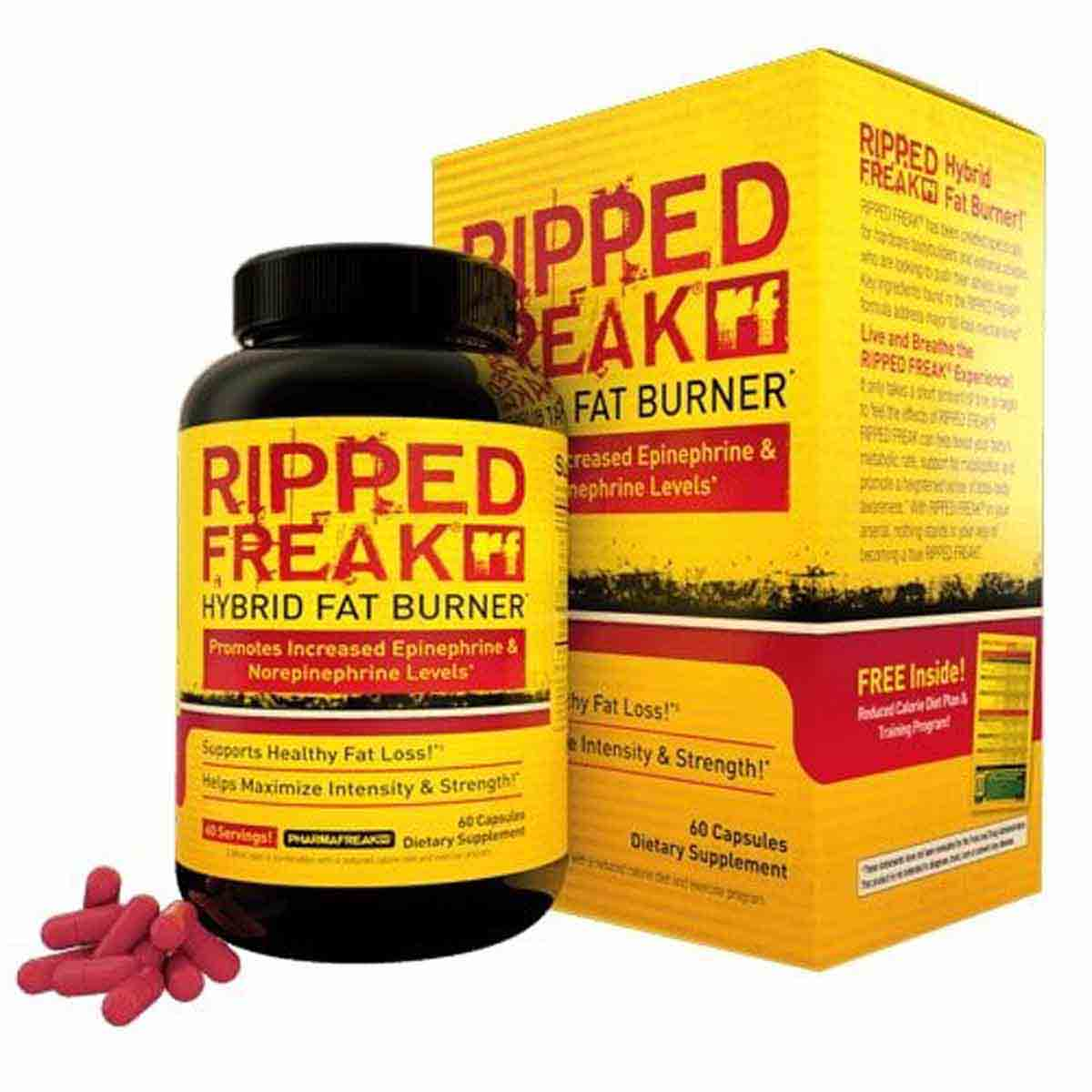 Ripped Freak supplements