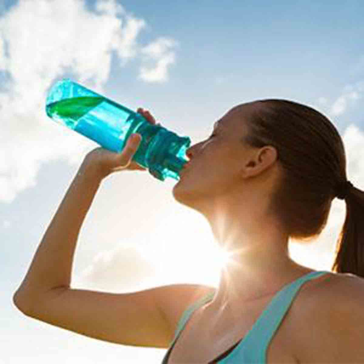 Calorie Deficit, Woman Drinking Bottle