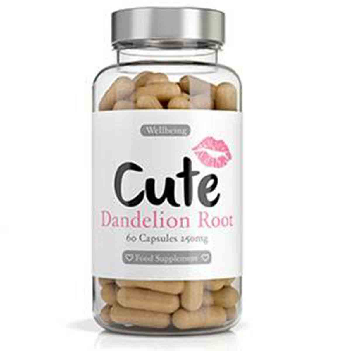 Cute Nutrition Dandelion Root Water Loss Capsules
