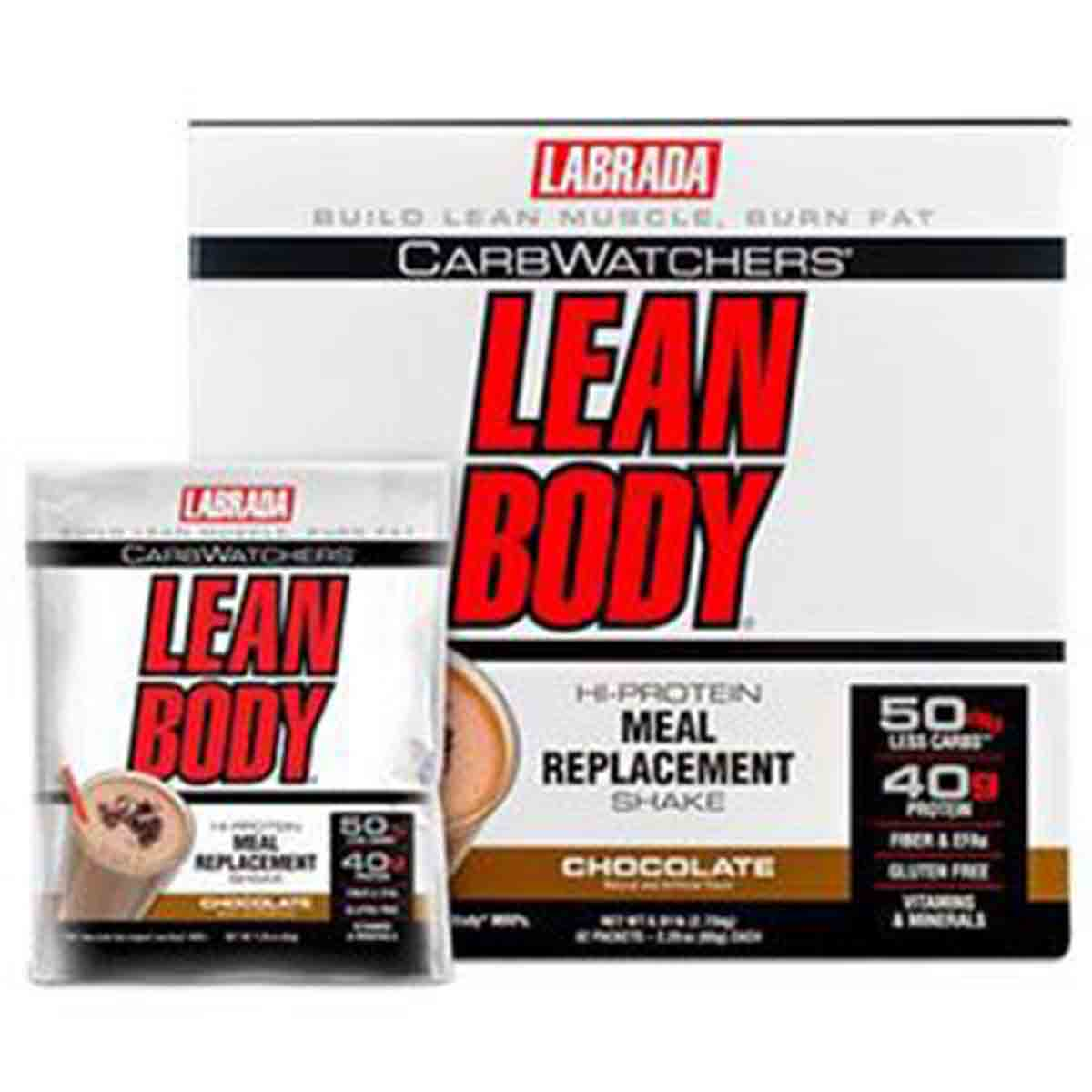 Lean Body CarbWatchers Hi-Protein Meal Replacement Shake