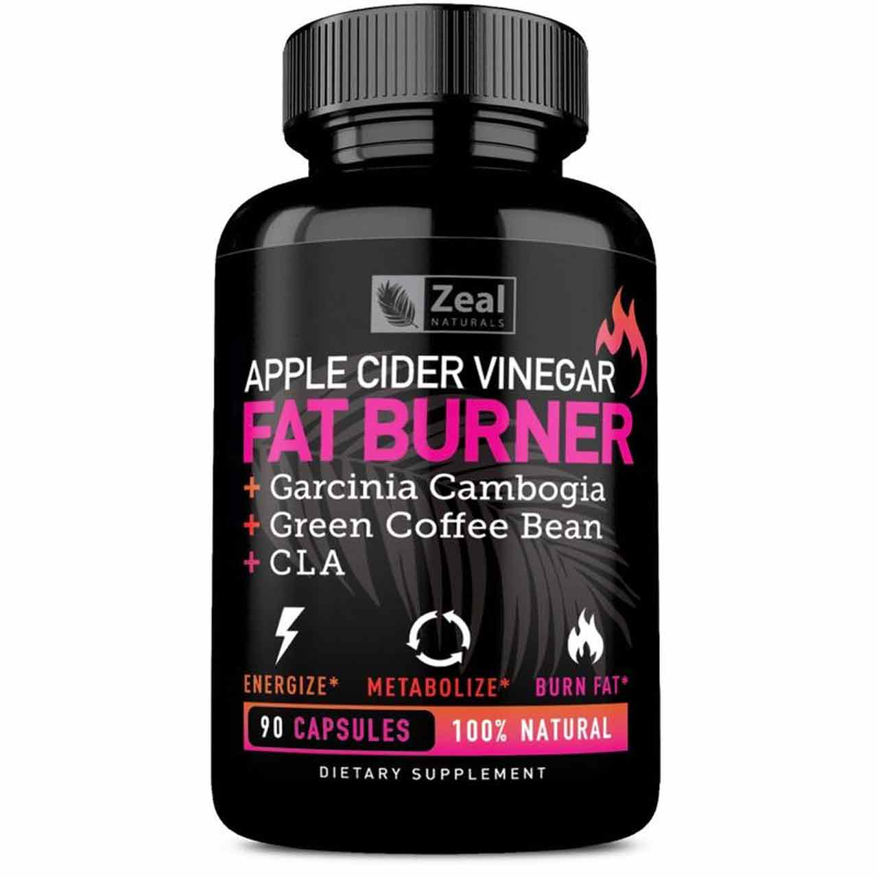 Zeal Naturals Apple Cider Vinegar Fat Burner