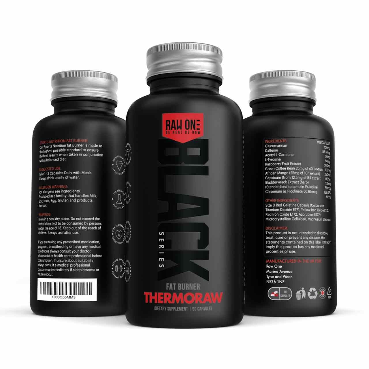 Thermoraw Raw One (Bioking Labs T5 Fat Burner)